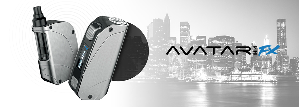 AVATAR FX MINI 75W Temperature Controlled Mod (Stainless)