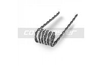 60x COIL MASTER Pre-Built Fused Clapton Kanthal Coils (0.45Ω) image 3