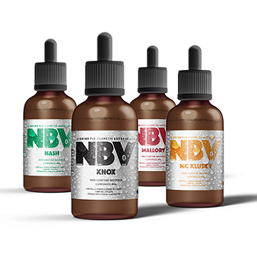 40ml NBV MALLORY High VG 3mg eLiquid (With Nicotine, Very Low)