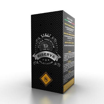 20ml PLATINUM RISERVA / DESERT 8mg eLiquid (With Nicotine, Medium)